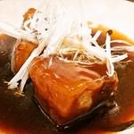 Shisengyouzabarupaopao - ◆豚角煮で酢豚 880円(税別)