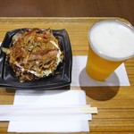 甚六 - チーズ玉、生ビール