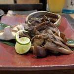 ぼちぼち - 天然舞茸と椎茸のホイル焼き
