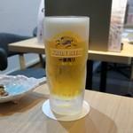 しあわせ料理 萬てん - 生ビール