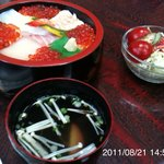 やぐら寿司 - イクラ丼 2000円