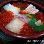 やぐら寿司 - イクラ丼