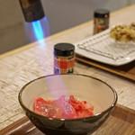 太門 - 肉うどん 松茸入り