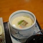 酒の穴 - デカ茶碗蒸し