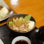 酒の穴 - 生姜焼き