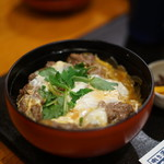 酒の穴 - すき焼き丼