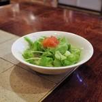 ステーキハウス チャコオキナワ - サラダ