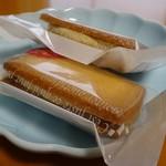 アトリエ ボン - 青森りんごのバターサンド210円(外税)