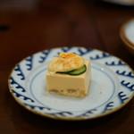 ざくろ - 胡麻豆腐