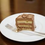 ざくろ - デザートはチョコレートケーキ!