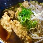 中華料理 天心 - 鶏皮ラーメン
