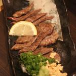 長州個室居酒屋 悠遊 - 長萩和牛炭火焼き