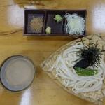大澤屋 - ごま汁うどん ざる864円