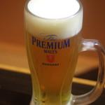 長州個室居酒屋 悠遊 - 生ビール