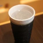 長州個室居酒屋 悠遊 - 麦焼酎の水割り