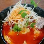 94095858 - 四川担々麺 辛め。