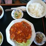 中国家 - エビチリ定食