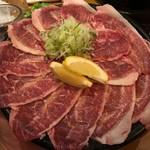 たけのうち - 和牛ツラミ塩焼き 780円