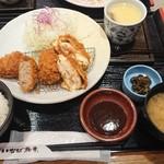 とんかついなば和幸 - 料理写真:茶碗蒸し、思ったより、食べると多い・・・。