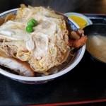 八松庵 - 料理写真:かつ丼(税込730円)