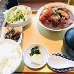 食幹 ソラマチ - 食幹特製 牛の煮込み膳