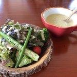 OOLOO - セットの農園サラダ&スープ