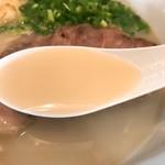 麺屋 菜々兵衛 - 鶏白湯 塩のスープ