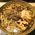 横川橋 康次郎 - 牛肉の甘辛さとかつおダシがよく合う!