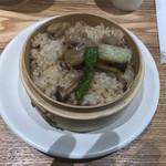 拉麺葵 - ランチ限定わっぱ飯