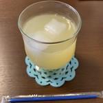だし&カフェ 禅 - りんごジュース