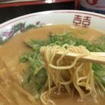 中華そば 花京 - こってり 細麺