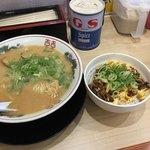 中華そば 花京 - B ラーメンこってり+マヨ丼   900円