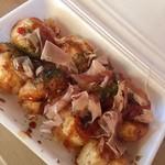 たこ焼き杜 - 料理写真:マヨなしたこ焼きをリクエスト  お店のお母さんに感謝