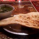 インド料理モハン - サグチキン・ルー大盛り(2018.9)