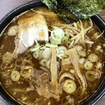味噌蔵 麺駒亭 - 黒味噌