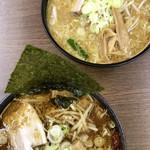 味噌蔵 麺駒亭 - 2ショット
