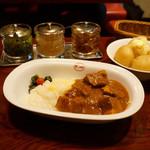 欧風カレー ボンディ - ビーフカレー(ご飯少なめ)