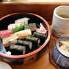 すし半 - 料理写真:ランチ(800円)(茶碗蒸しは松茸入り)