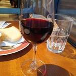 魚貝とワインと時々お肉 YOKOHAMA Mar Mare - 飲み放題から常温の赤はミディアム