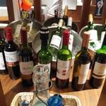 魚貝とワインと時々お肉 YOKOHAMA Mar Mare - ワインビュッフェ90分飲み放題1,000円税込コーナー