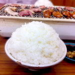 鳥広 - 料理写真:大盛りご飯