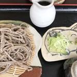 Senshinan - 料理写真:そばセット 最初に配膳される分