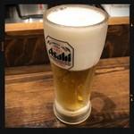 しんぱち食堂 - 生ビール 150円