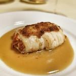 ポンペット - 【ビストロ・ダルブル  コラボ】舌平目の蟹ムース詰め  ソースアルベール