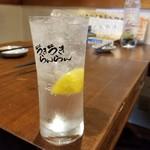 魚屋 うきうきらんらん 三鷹 - レモンサワー