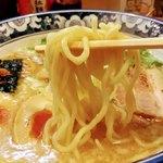 麺屋 桜 - つけ麺同様 ラーメンの麺もンマい