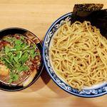 麺屋 桜 - 全部のせつけ麺 1100円 + 麺大盛り(420g) 100円  麺大盛り300gまで無料!