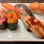 かき鮮 海風土 - ウニも美味しいです。