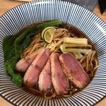 麺屋 椿丸 - 料理写真:鴨ネギそば