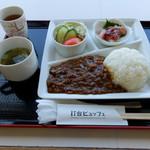 美保関灯台ビュッフェ - 美保関カレー1190円